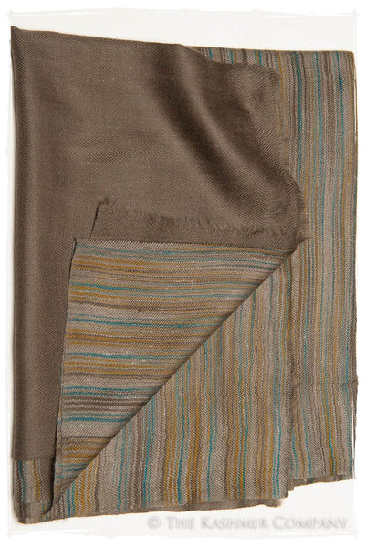 The Waterloo - Handloom Pashmina Cashmere Scarf