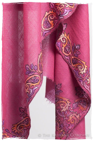 Orient Frontière Rosebud L'amour Soft Cashmere Scarf/Shawl