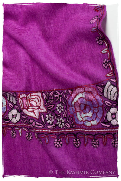 Rose Jardin Frontière L'amour Soft Cashmere Scarf/Shawl