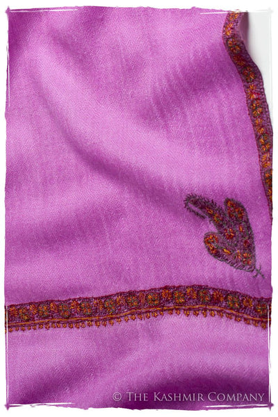 Frontière Orchid L'amour Soft Cashmere Scarf/Shawl