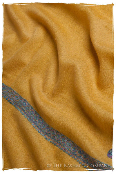 Frontière Mimosa Bleu L'amour Soft Cashmere Scarf/Shawl