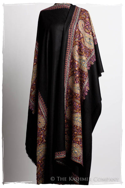 The Ciel de la Nuit - Grand Pashmina Mens Shawl