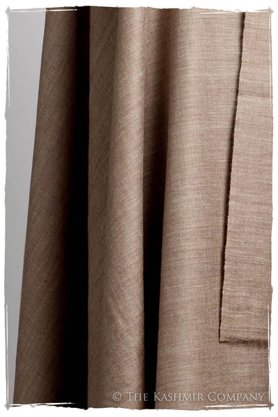 California Sand Taupe - Le Luxe Simple - Grand Handloom Pashmina Shawl