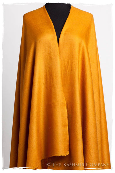 Golden Oak - Le Luxe Simple - Grand Handloom Pashmina Shawl