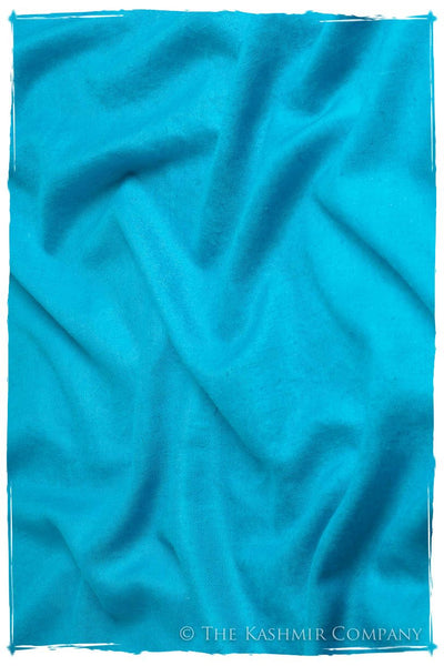Hawaiian Ocean - Le Luxe Simple - Grand Handloom Pashmina Shawl