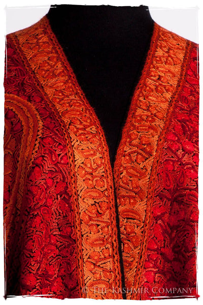 Diamants Rouges Trésor Paisley Antiquaires Shawl