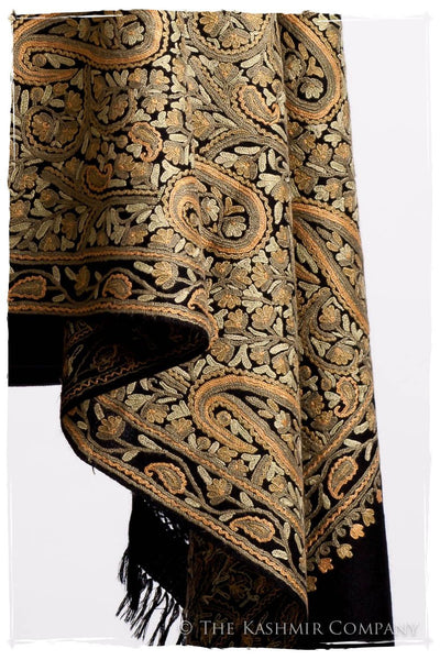 Oasis Moss Paisley Antiquaires Shawl