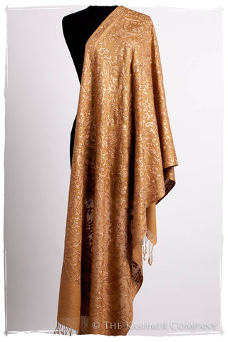 The Célébration Fabuleuse Morocco Gold Shawl