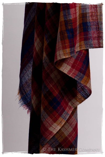 The Barnaby - Handloom Cashmere Grand Shawl