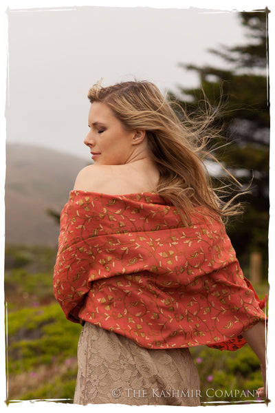 Rose de Porcelaine Secret Garden Shawl