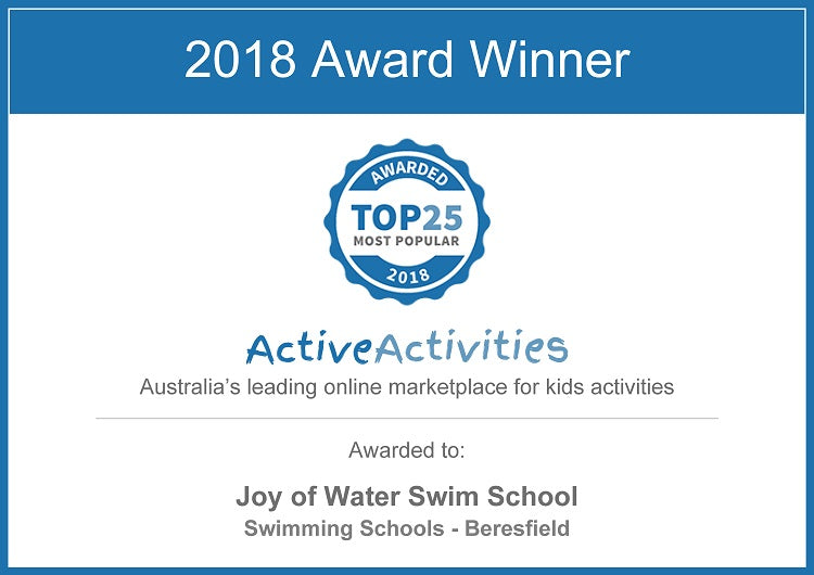 Top 25 Most Popular Kids Activity Award for 2018