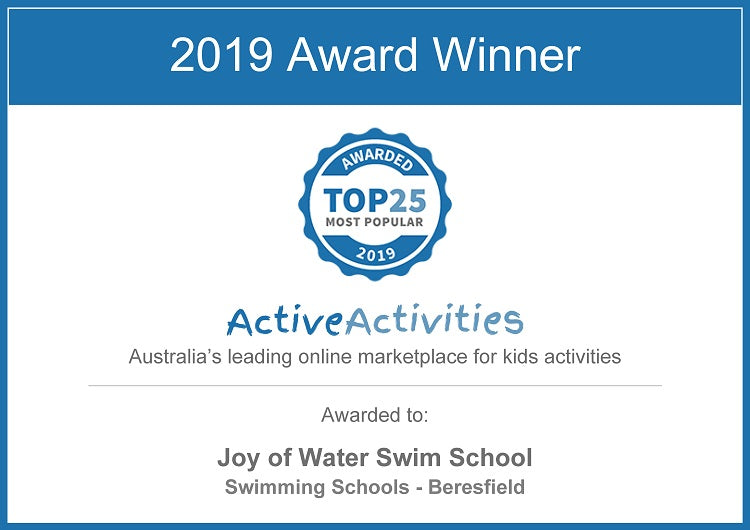 Top 25 Most Popular Kids Activity Award for 2019