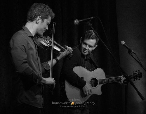 Irish Fiddle & Guitar Workshop w/ Andrew Finn Magill and Dave Curley | November 10