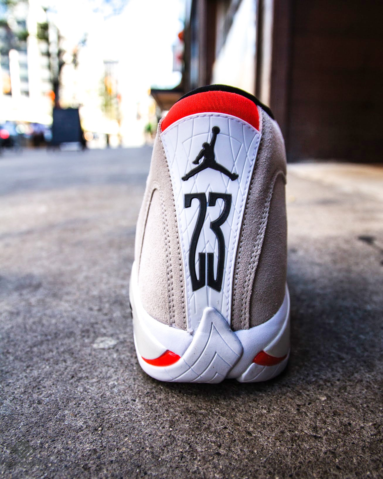 """the best attitude f5a43 2b0ae Air Jordan 14 """"Desert Sand"""". May 12, 2018 0 Comments. Air Jordan 14 """"Desert  Sand"""". Michael Jordan s last-ever signature sneaker while playing with the  Bulls ..."""