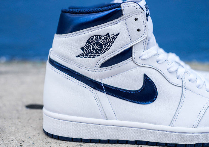 "Retro 1 High OG ""Metallic Navy"""