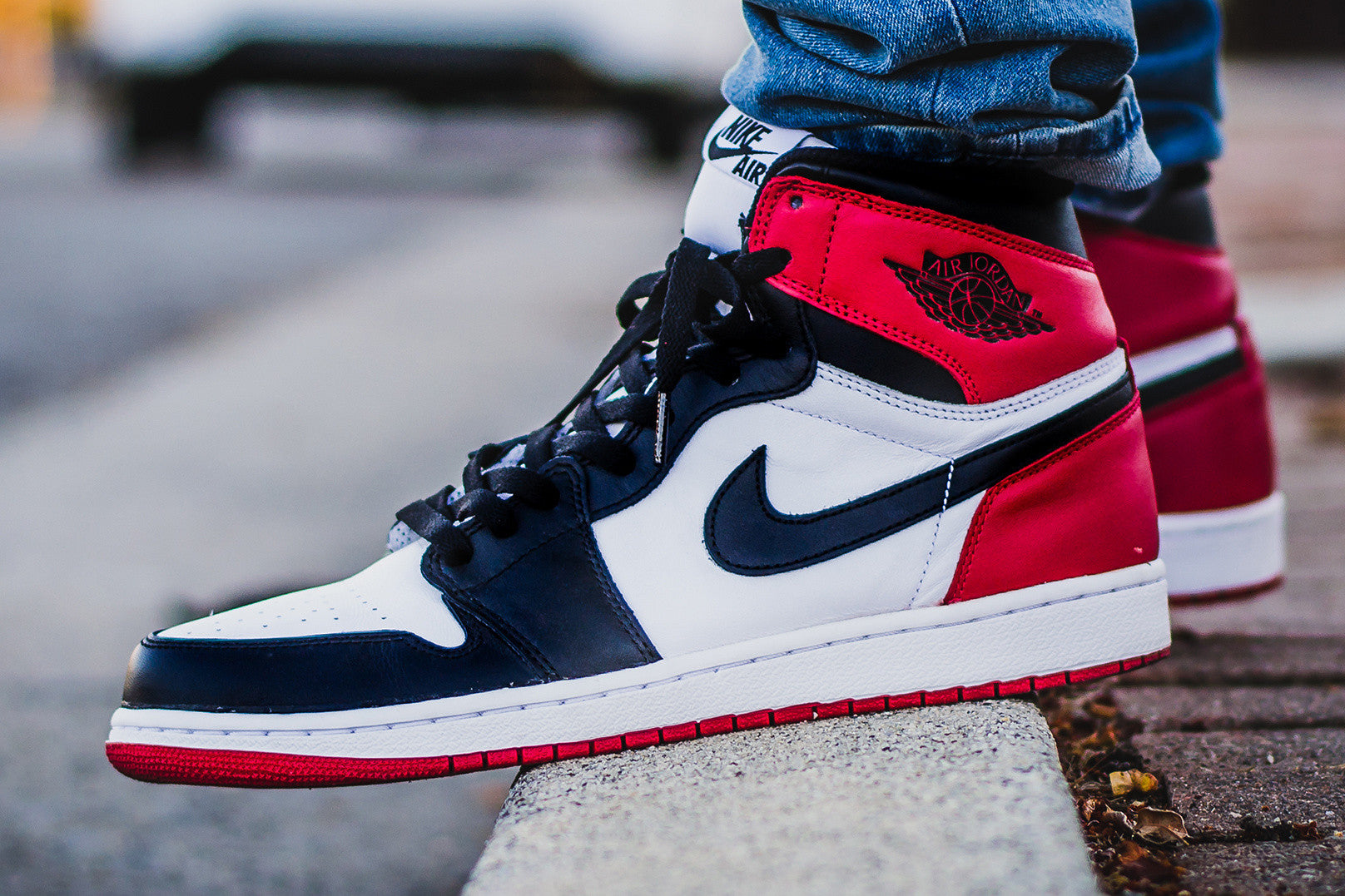 "Retro 1 High ""Black Toe"""