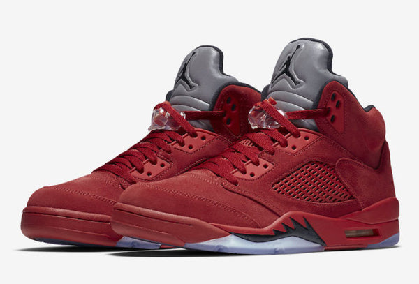 "Retro 5 ""Red Suede"""