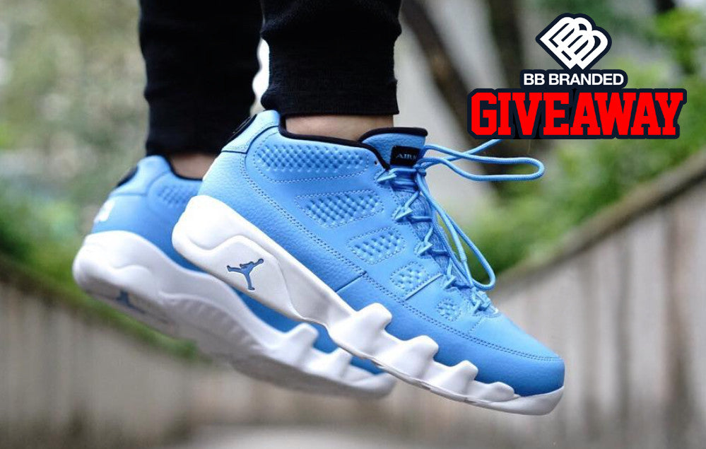 "Retro 9 Low ""Pantone"" Giveaway Contest"
