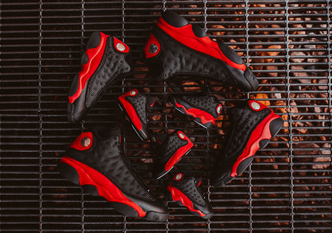 Air Jordan 13 Bred Releases on August 19th 2017