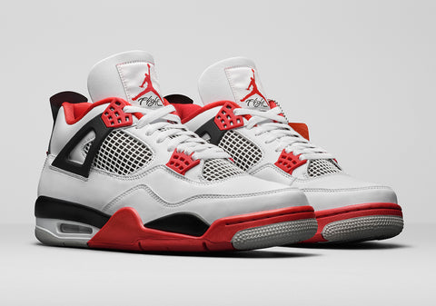"The Air Jordan 4 ""Fire Red"" First Look & Release Date"