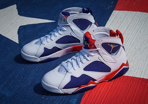 "Air Jordan VII ""Tinker Alternate/Olympic Alternate"""
