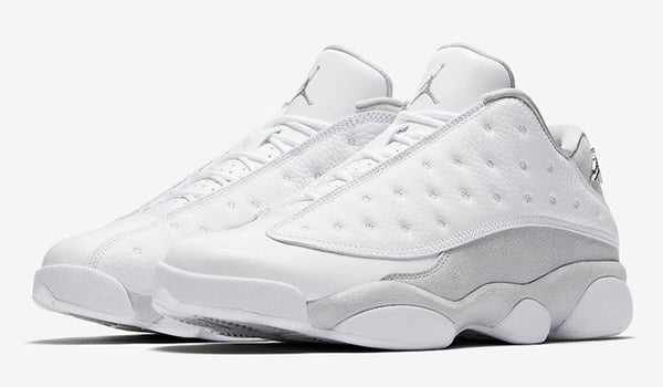 "RETRO 13 LOW ""PURE PLATINUM'"