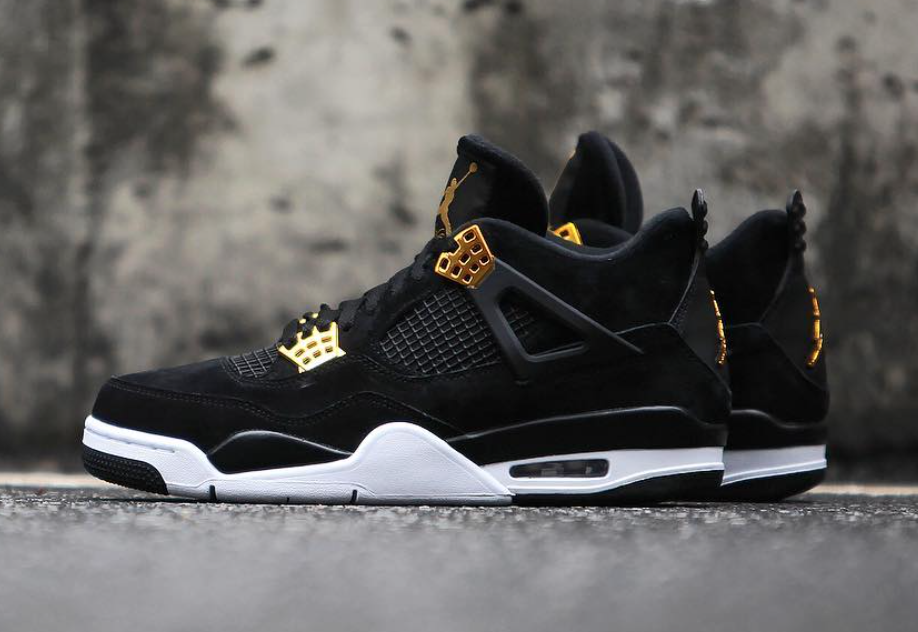 bd28e7f0b78 The Air Jordan 4 Royalty pays tribute to the elevated status of Michael  Jordan's fourth signature model with a luxurious full black nubuck  construction ...