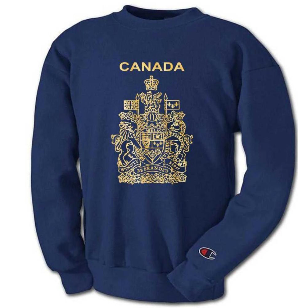 Champion X Canada Passport Crew Neck Sweater