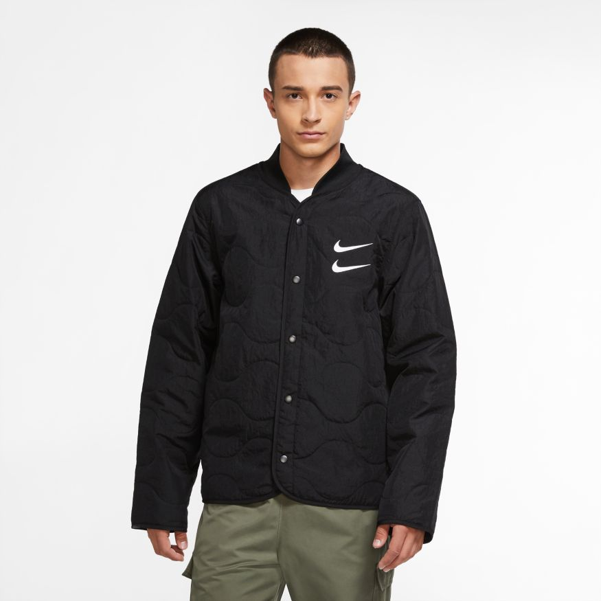 Buy NIKE M NSW SWOOSH JKT+ QUILTED  CU3922-010 Canada Online