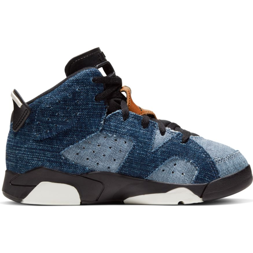 "JORDAN 6 RETRO (PS) ""WASHED DENIM"" CV5487-401"
