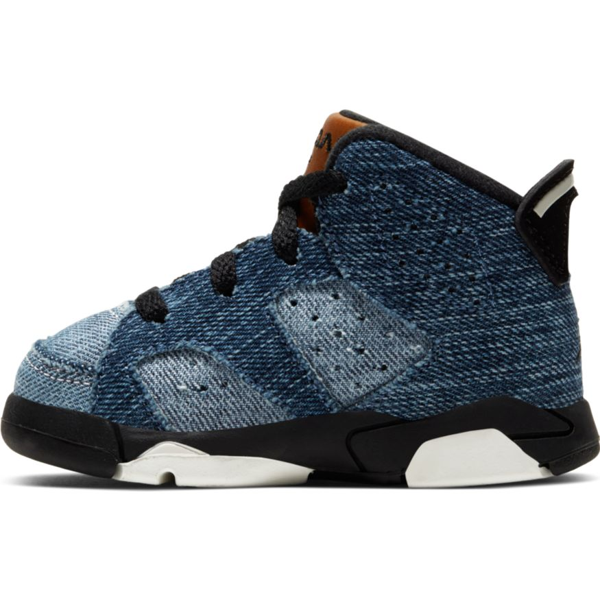 "JORDAN 6 RETRO (TD) ""WASHED DENIM"" CV5488-401"