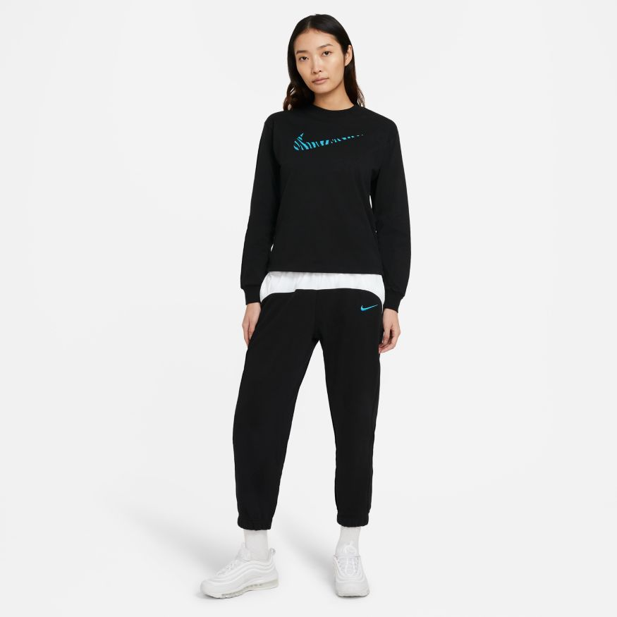 Buy NIKE W NSW ICN CLSH LS TOP HBR DC5294-010 Canada Online