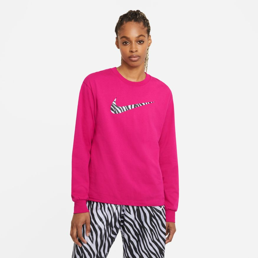Buy NIKE W NSW ICN CLSH LS TOP HBR DC5294-615 Canada Online