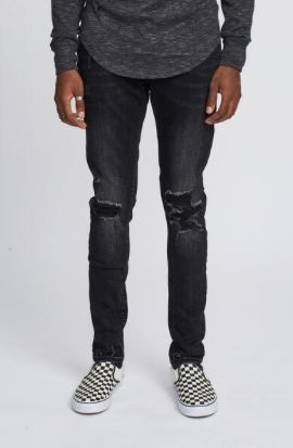 Destroyed Denim KUL-K5 Vintage Black