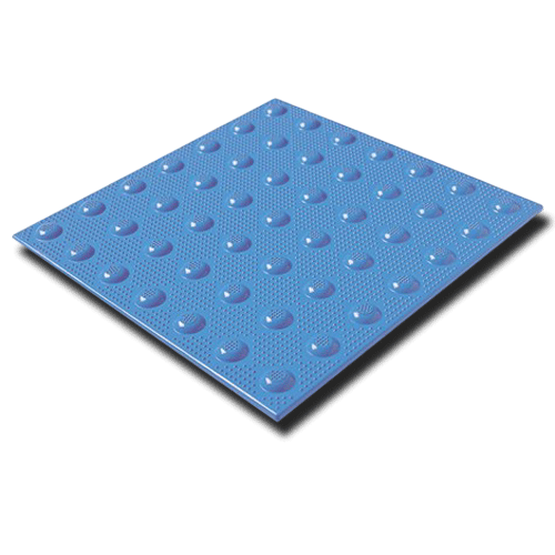 Armor Tile Detectable Warning Mat Ocean Blue