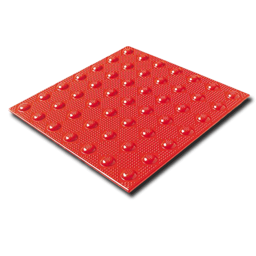 Armor Tile Surface Applied Safety Red