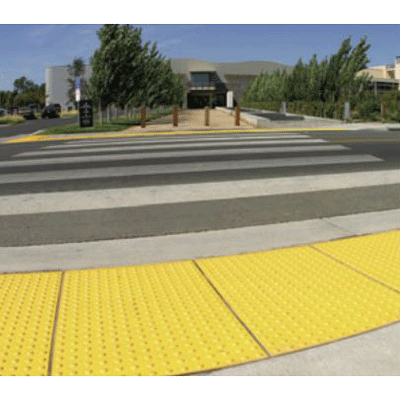 Armor Tile Cast In Place Detectable Warning Mat