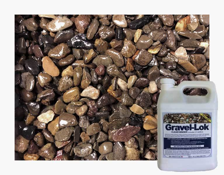 Gravel-Lok - Clear Color - Stone Binder - 1 Gallon