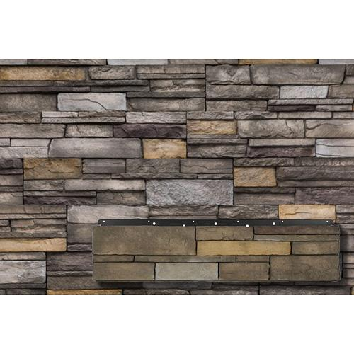 Versetta Stone panel in Sterling Color Ledgestone Style