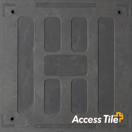 Access Tile Surface Mount Detectable Warning Mat - 2' x 3'