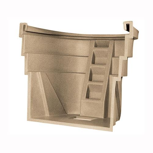 4 step sandstone polyethylene Wellcraft 2060 Egress Window Well
