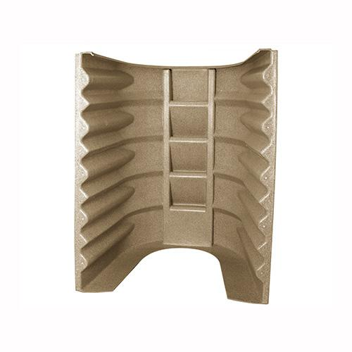 Wellcraft 2062 polyethylene egress window well 5 step Sandstone color