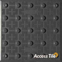 Surface Applied Access Tile Grey ADA Pad