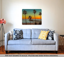 Load image into Gallery viewer, Palm trees on Manhattan Beach