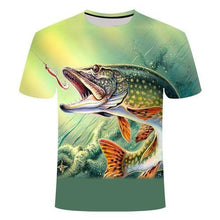Load image into Gallery viewer, Fishing t-shirt
