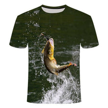 Load image into Gallery viewer, Funny fish T-shirt
