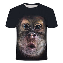 Load image into Gallery viewer, Tshirt dog monkey