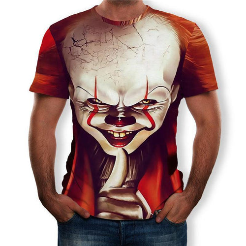 Halloween clown 3d T-shirt
