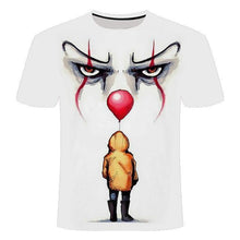 Load image into Gallery viewer, Halloween clown 3d T-shirt