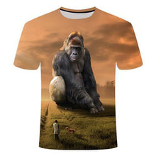Load image into Gallery viewer, 3D MONKEY T-SHIRT